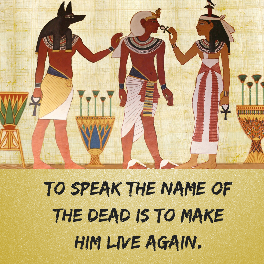 Ancient Egyptian Quotes About Life and Death ⋆